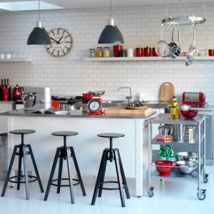 Retro Kitchen Stools for Most Appealing Kitchen
